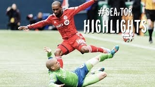 HIGHLIGHTS: Seattle Sounders vs. Toronto FC | March 15, 2014