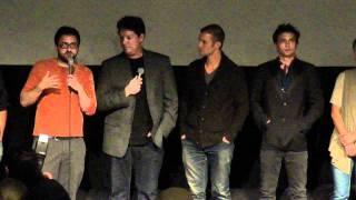 Girlfriend screening Q&A with Jackson Rathbone & Jerad Anderson, Los Angeles, 9/21