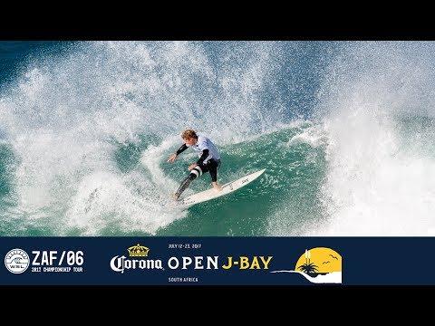 John John Florence's Perfect 10 in Round Four - Corona Open J-Bay 2017