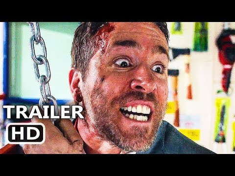 THE HІTMAN'S BΟDYGUARD Official Red Band Trailer # 2 (2017) Ryan Reynolds Action Movie HD