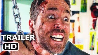 THE HІTMAN'S BΟDYGUARD Official Red Band Trailer # 2 (2017) Ryan Reynolds Action Movie HD thumbnail