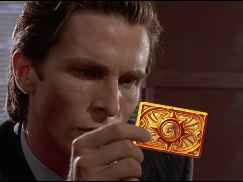 American psycho comparing hearthstone cards remake youtube american psycho comparing hearthstone cards remake reheart Gallery