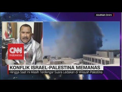 Konflik Israel-Palestina Memanas, 4 Warga Sipil Tewas