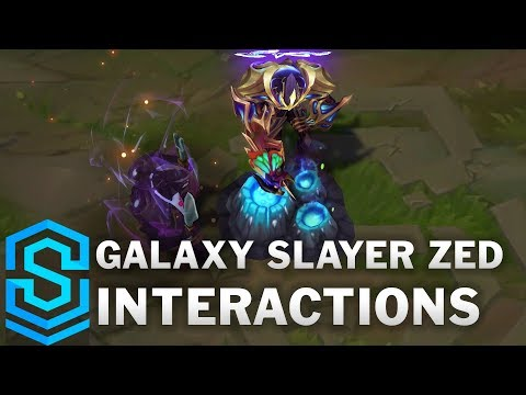 Galaxy Slayer Zed Special Interactions