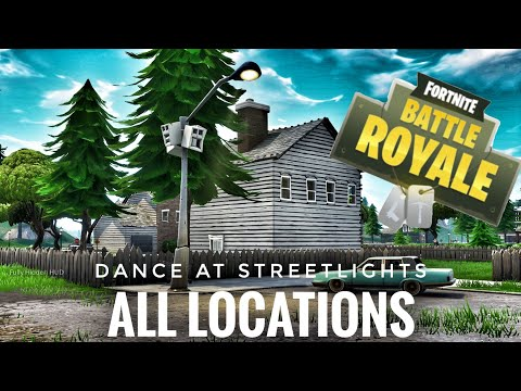 All 7 Locations Dancing Under Streetlights Fortnite BR