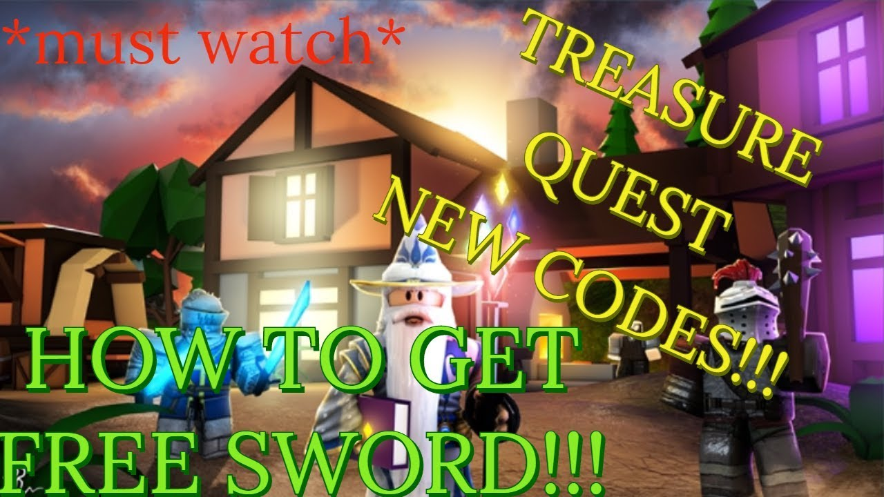 NEW CODES AND HOW TO GET FREE SWORD II Roblox Treasure Quest
