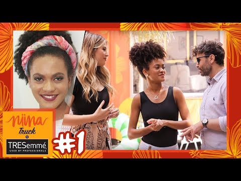 DIA DE RENOVAÇÃO COM CABELO CRESPO! | Niina Truck #1