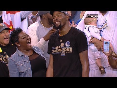 The mother of NBA Finals MVP Kevin Durant shares her parenting secrets on 'GMA'