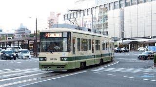 2019/10/27 広島電鉄 3800形 3801号 広島駅 | Hiroden: 3800 Series #3801 at Hiroshima Station