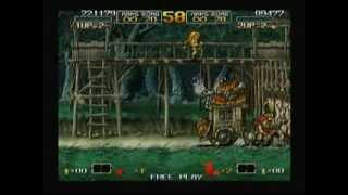 Metal Slug Anthology - Metal Slug 6 (Nintendo Wii) Game Play