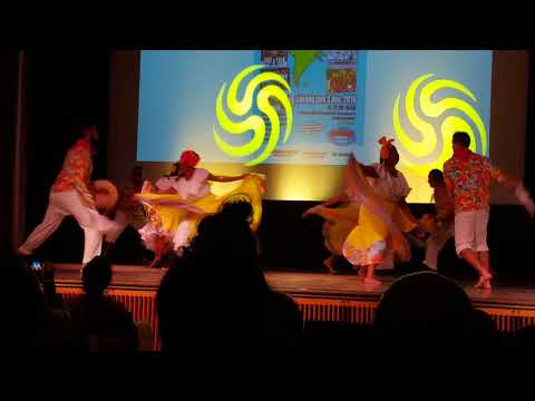 Dance from Colombia in Stockholm latino dance festival