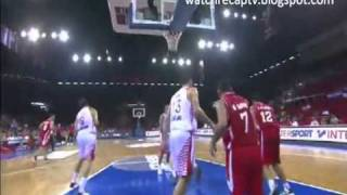 Croatia Vs. Iran FIBA basketball Turkey 8/29/2010 Highlights watchrecaptv.blogspot.com