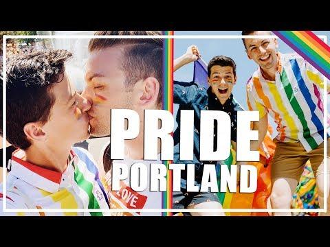 Husbands Go To Gay Pride In Portland | Michael & Matt