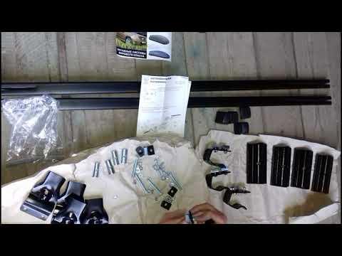 Lada Granta - Установка багажника