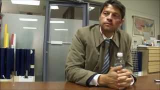 Supernatural Interview with Misha Collins about Fighting the Darkness