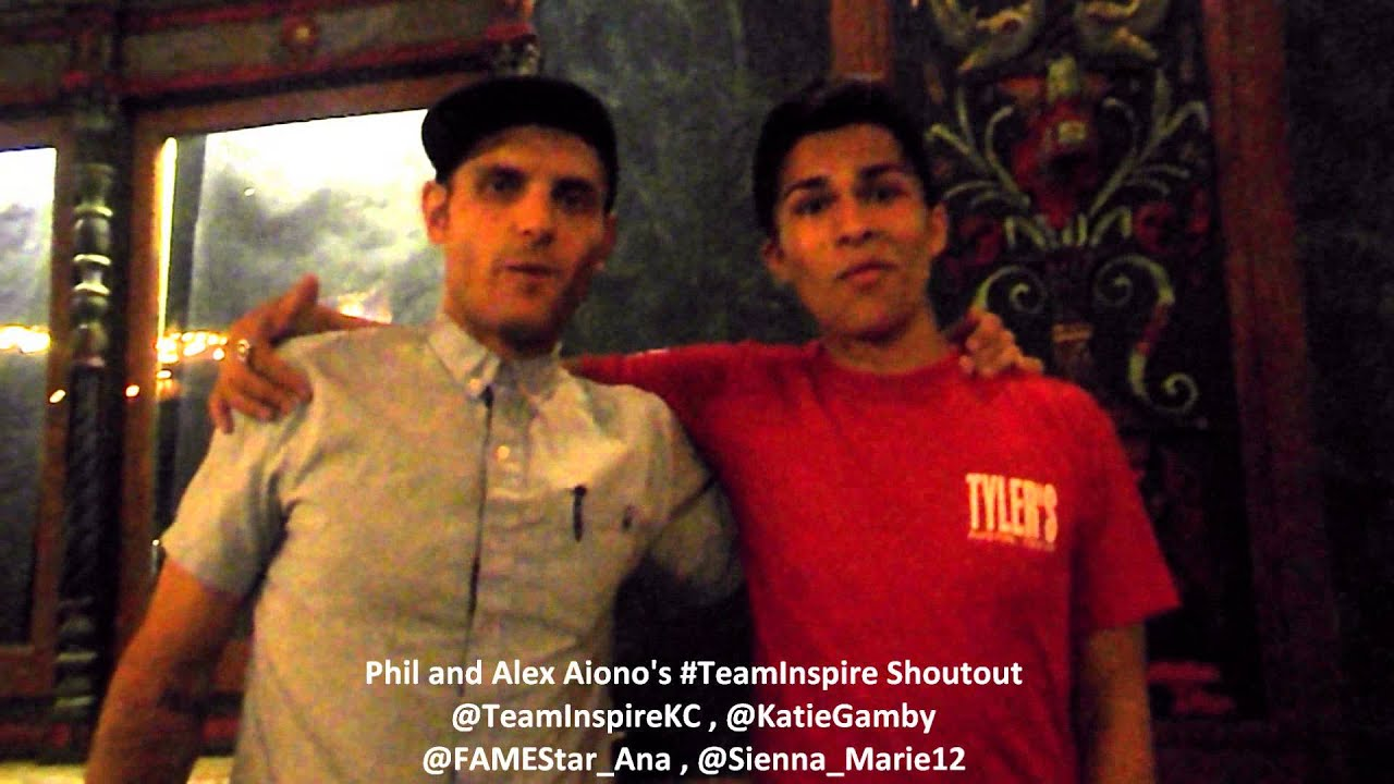 Alex Aiono And Phils Teaminspire Shoutout Kansas City Mo 722