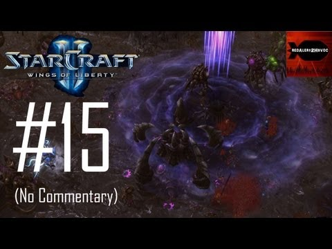 StarCraft 2: Wings Of Liberty - Campaign Playthrough Part 15 (In Utter Darkness, No Commentary)