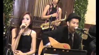Christian Hewis Akustik Band wedding | lagu wedding barat romantis-Lucky(Jazon Mraz)