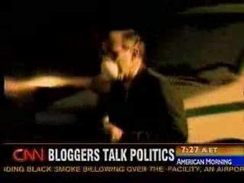 Jane Hamsher smacks down Robert Bluey on CNN