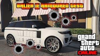 GTA 5 Online PS4 - Baller LE Armoured Test