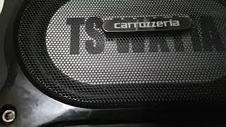 Pioneer #Carrozzeria, Subwoofer bass test