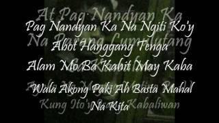 Download Pag-Ibig Nga Naman Curse One lyrics MP3 song and Music Video