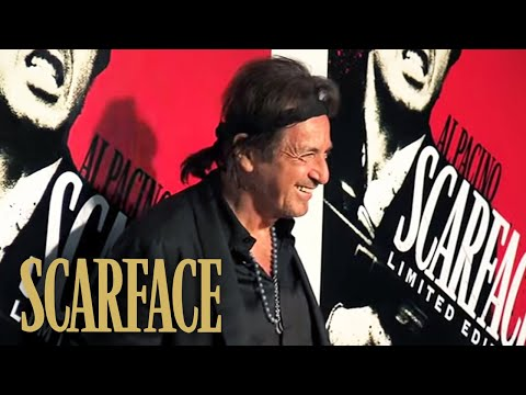 SCARFACE Blu-ray Cast Reunion & Party