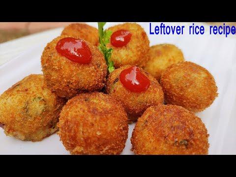 leftover-rice-potato-snack-recipe-|leftover-rice-recipes-|leftover-rice-snacks-|meetu's-kitchen-|