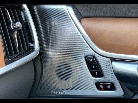 2018 Volvo S90/V90: Bowers & Wilkins Premium Sound System Review!