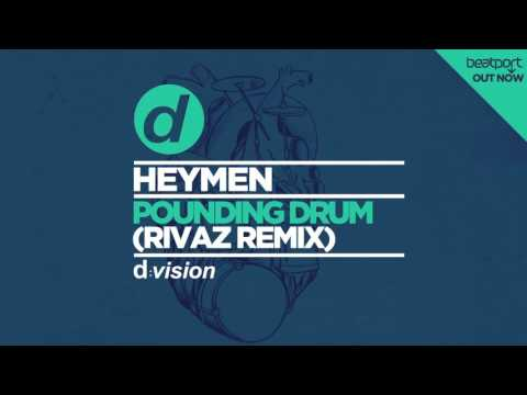 Heymen - Pounding Drum (Rivaz Remix) [Cover Art]