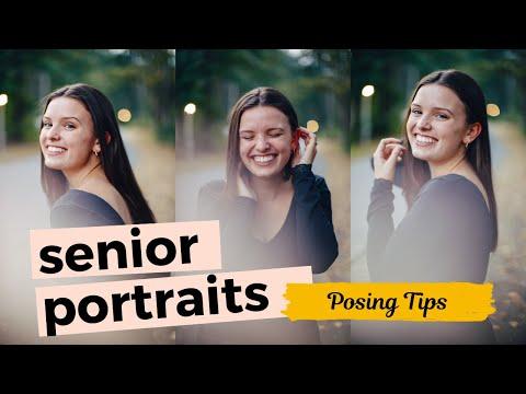 I Photograph a Subscriber's Senior Portraits! + Posing Tips