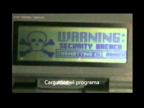 Tributo Atari portfolio Hack pin tarjeta bancaria