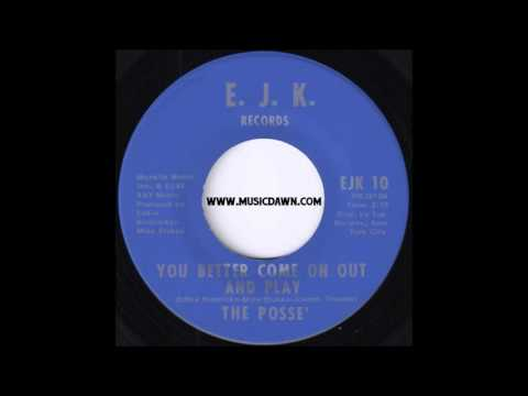 The Posse' - You Better Come On Out And Play [E.J.K. Records] 70's Soul Funk 45