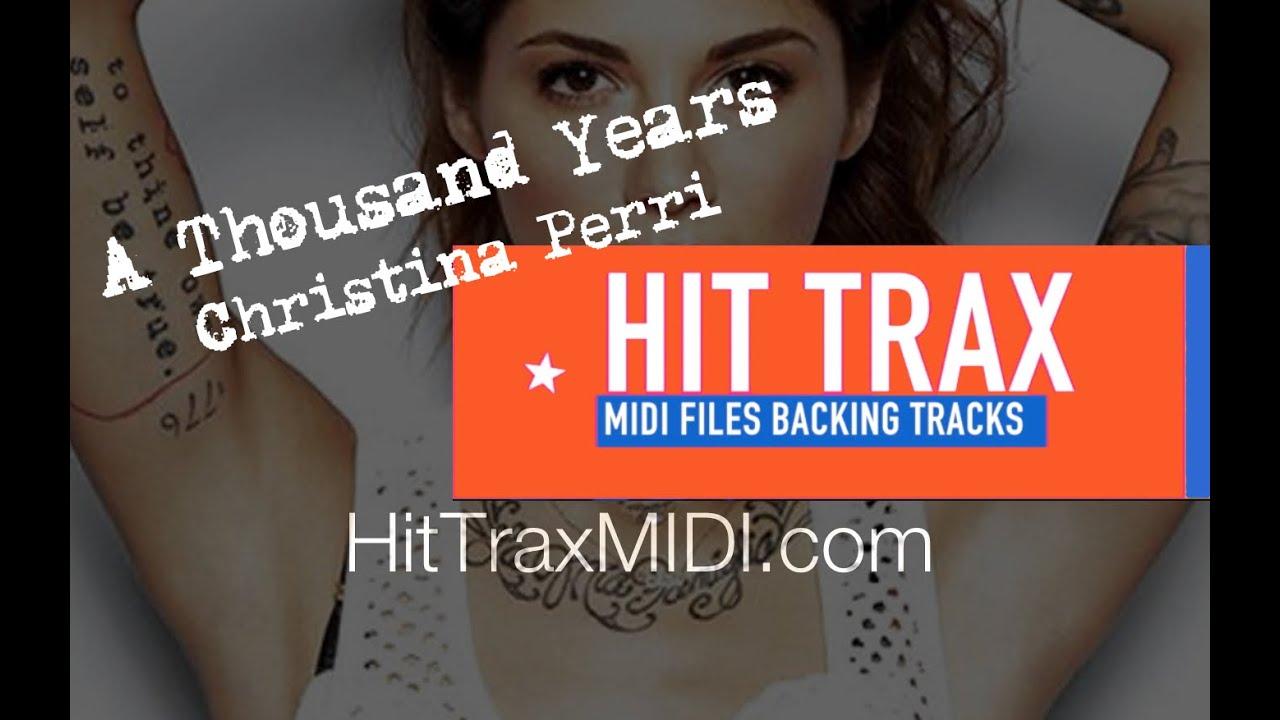A Thousand Years Christina Perri MIDI File