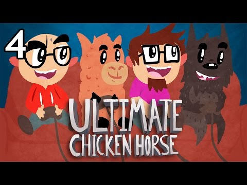 Ultimate Chicken Horse with Friends - Episode 4 - Iceberg