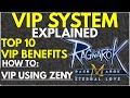 VIP SYSTEM EXPLAINED RAGNAROK M ETERNAL LOVE