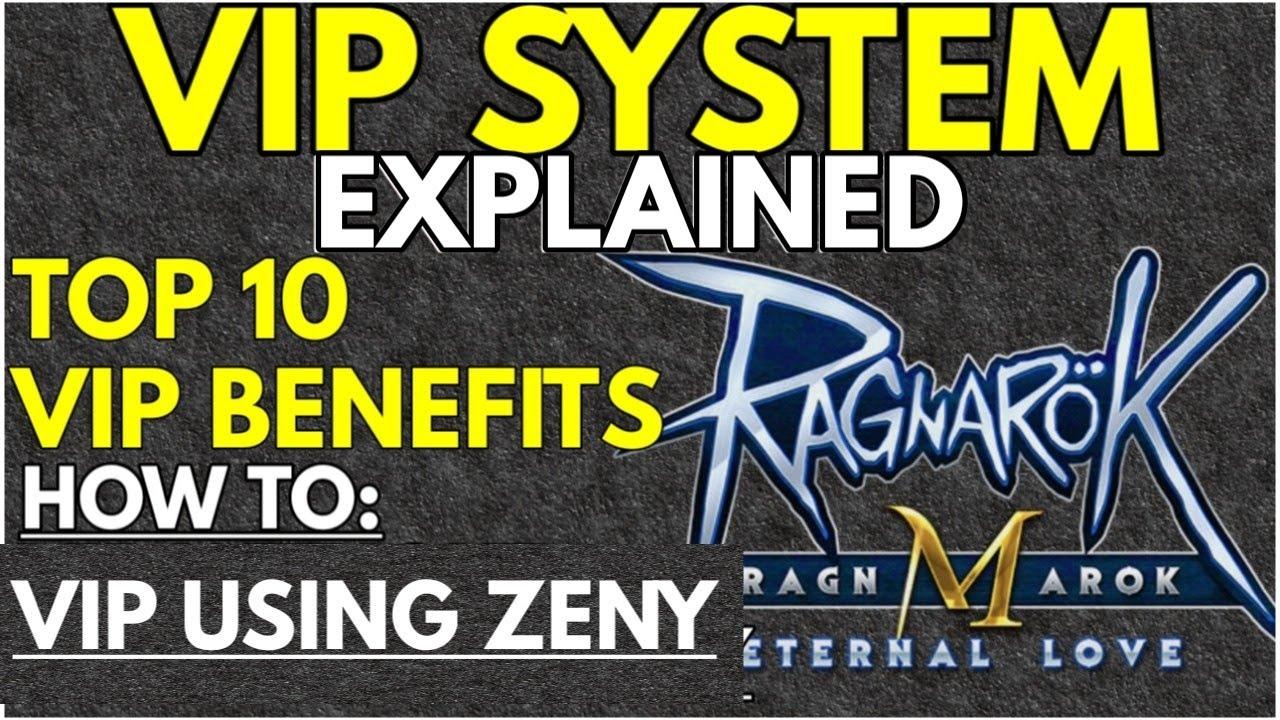 vip system explained ragnarok m eternal love - youtube
