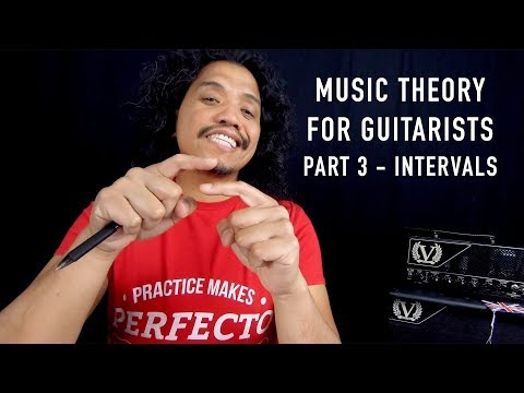 Music Theory for Guitarists PART 3 | Intervals – Enharmonics – Shapes