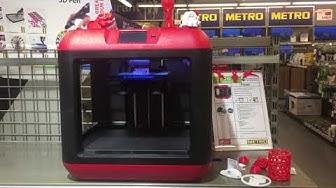 3D Drucker Flashforge bei METRO Freiburg 20.04.2018