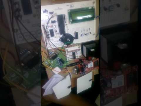 microcontroller based crack detection kit