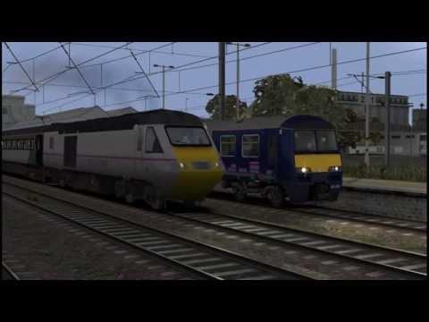 Trains at Welwyn Garden City - Train Simulator 2015.