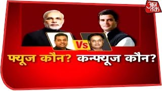 किसने किया काम, किसने बनाया नाम ? Anjana Om Kashyap के Halla Bol में Sambit Patra vs Rajiv Tyagi
