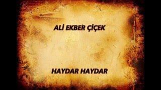 ALİ EKBER ÇİÇEK --HAYDAR HAYDAR