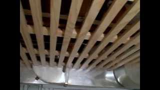 Wood Strips Ceiling... Continued