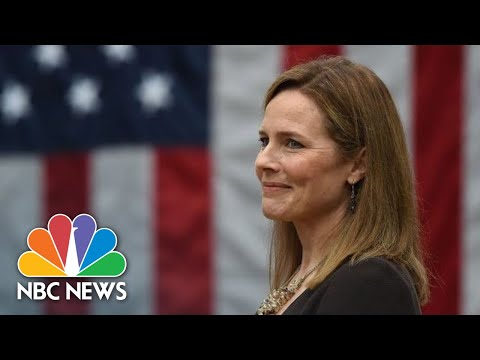 White House Hosts Celebration After Amy Coney Barrett Confirmed To Supreme Court | NBC News
