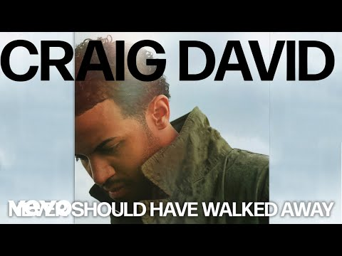 craig-david---never-should-have-walked-away-(official-audio)