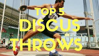 TOP 5 | Longest Discus Throws Of All Time | Discus World Records