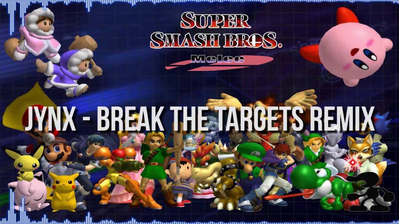 Super Smash Bros  Melee - Break the Targets remix -=Jynx=-