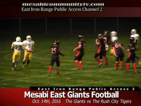 Mesabi East Football Homecoming vs Rush City 16