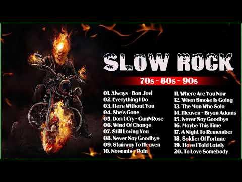 Scorpions, Nirvana,Led Zeppelin, Bon Jovi, U2, Aerosmith📀Slow Rock Ballads 70s, 80s, 90s